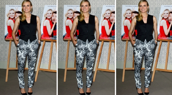 Look of the Day: Диана Крюгер в Stella McCartney