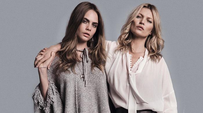 Кейт Мосс и Кара Делевинь снова вместе в новой кампании Mango
