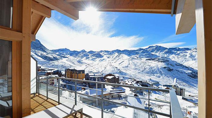 Новая высота: горнолыжный курорт Val Thorens Sensations