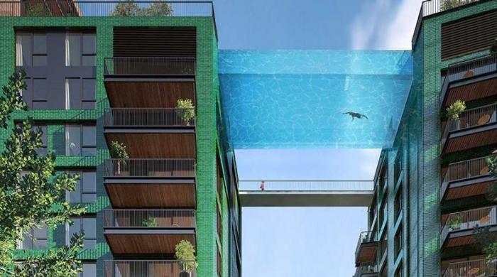 В Лондоне построят бассейн на высоте 30 метров