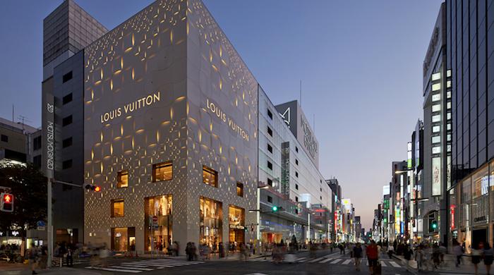 Студия Jun Aoki представила фасад токийского Louis Vuitton