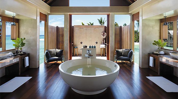 Shangri-La's Villingili Resort & Spa на Мальдивах