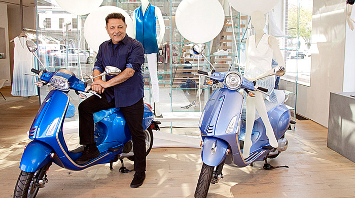Эли Тахари взялся за дизайн скутера Vespa