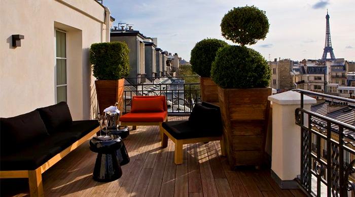 Секретный Париж: бутик-отель Hotel Marignan Paris