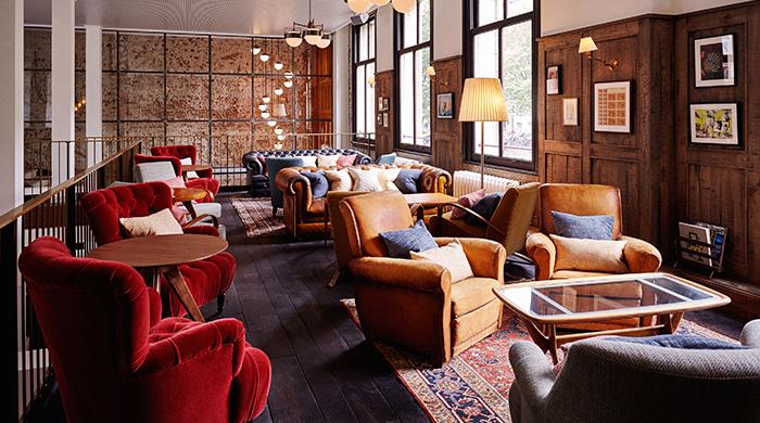 Немножко Англии в Амстердаме: новый  бутик-отель The Hoxton