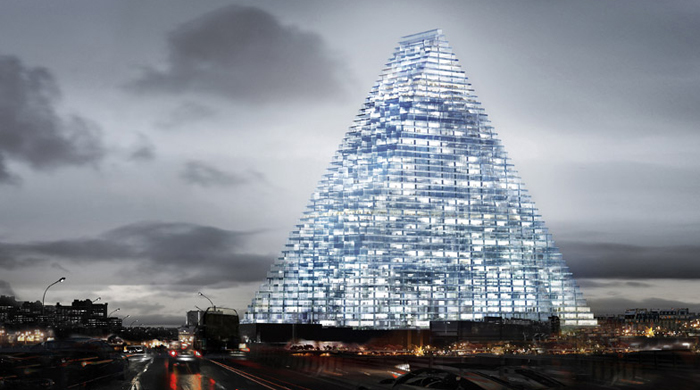 Мне бы в небо: Herzog & de Meuron построит в Париже 180-метровый небоскреб