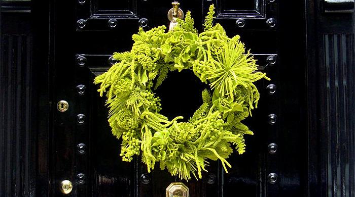 Дело мастера: рождественские венки британских дизайнеров