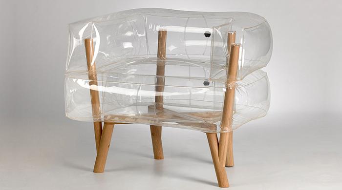 Техила Гай создала надувное кресло Anda