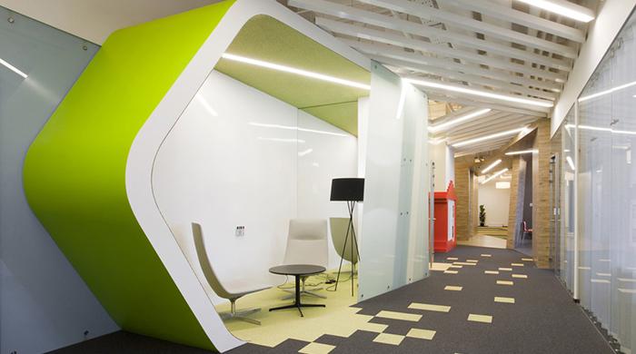Новый офис Yandex в Санкт-Петербурге