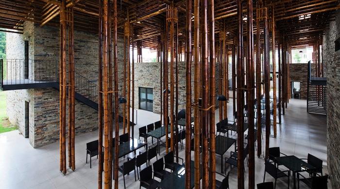 Бамбуковое зодчество: ресторан Son La во Вьетнаме