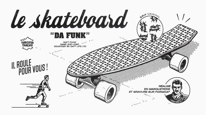 Daft Punk выпустили доски для скейтбординга