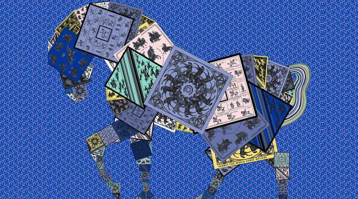 300 шелковых платков Hermès в пользу фонда World Horse Welfare