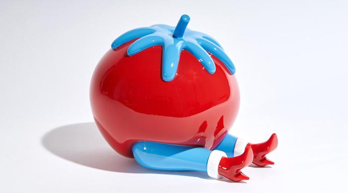 Несъедобно, но аппетитно: скульптура томатинки от Parra & Case Studyo