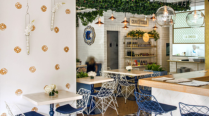 В ажуре: колумбийский ресторан и бар La Condesa