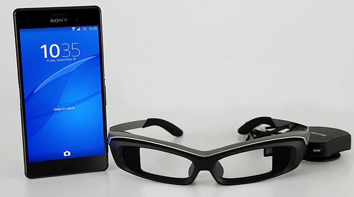 Sony выпустят аналог Google Glass в марте будущего года
