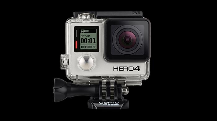 Новое поколение HERO 4 камер от GoPro