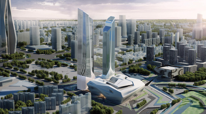 Заха Хадид и Норман Фостер спроектируют отели в Китае