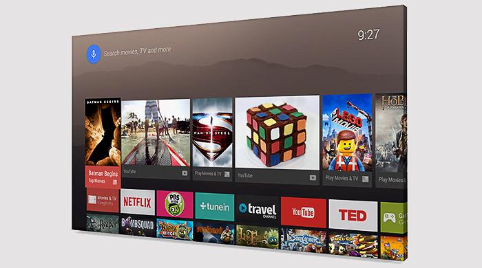 Google объявил о запуске Android TV