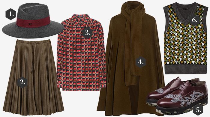 Одна вещь — три образа: вязаный жилет Marc Jacobs