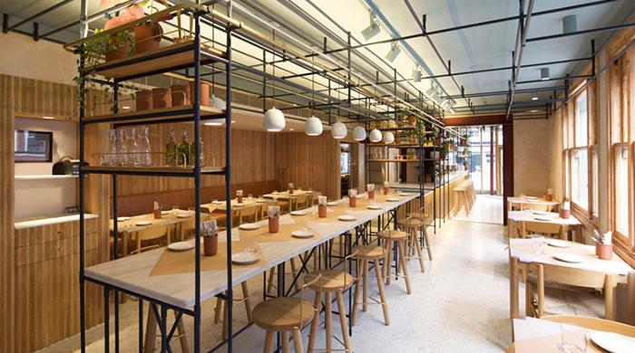 Аутентичный греческий ресторан Opso в центре Лондона