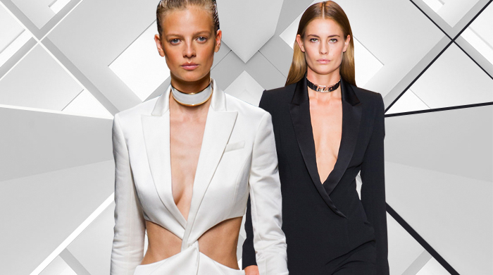 На заметку: жилет/костюм на голое тело