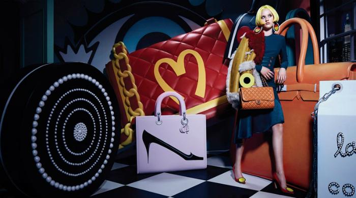 Добро пожаловать в кукольный дом: съемка для Harper's Bazaar China