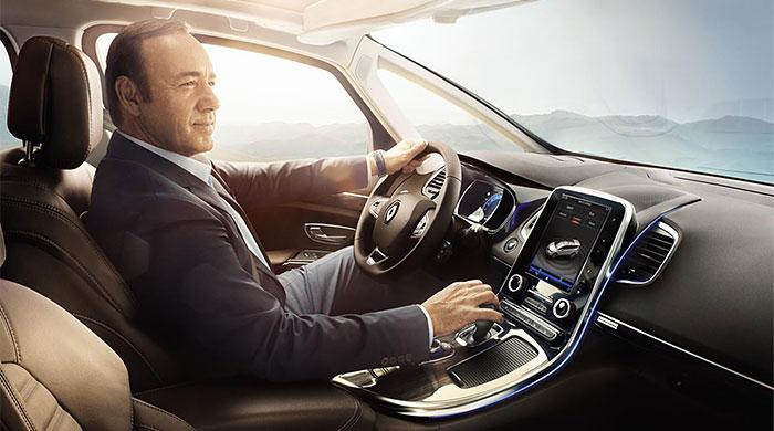 Кевин Спейси стал лицом новой рекламной кампании Renault
