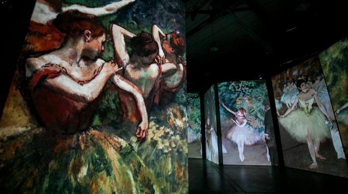 В Петербурге открывается мультимедийная выставка импрессионистов
