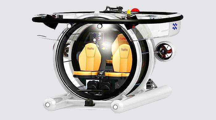 Объект желания: частная субмарина Super Yacht Sub 3