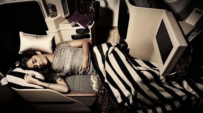 Сон мечты в кабинах первого класса Etihad Airways