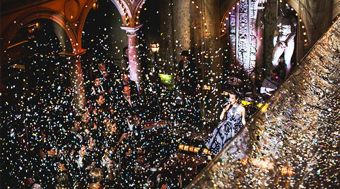 Топ-7 ресторанов Москвы для празднования Нового года