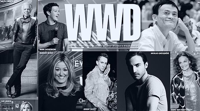 Газета WWD выбрала 20 главных ньюсмейкеров года