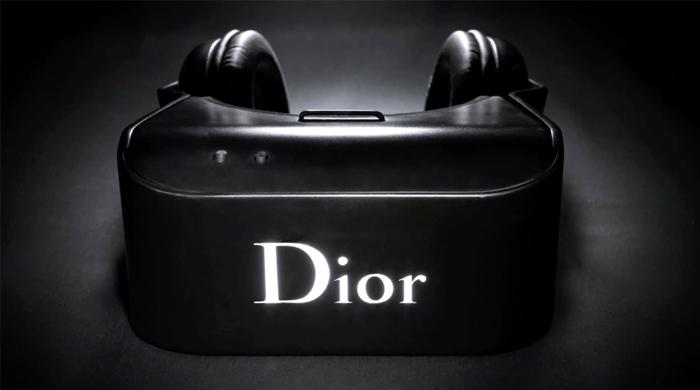 Dior создали очки виртуальной реальности