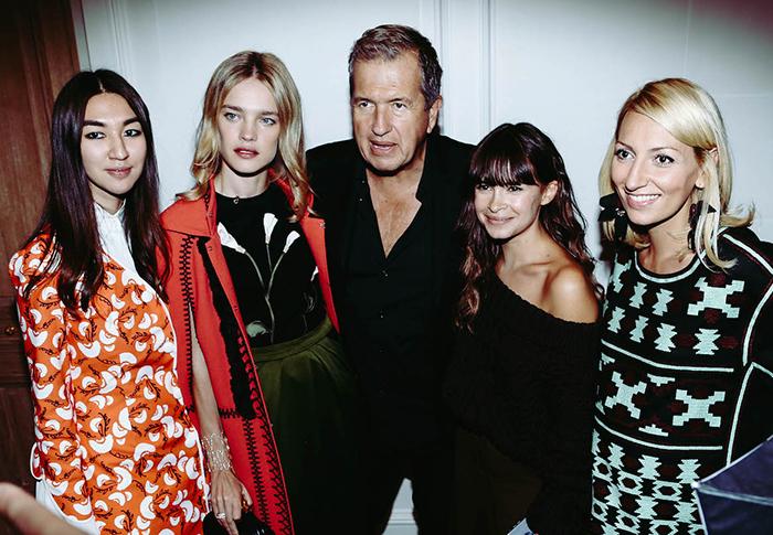 Вечер Buro 24/7's Fashion Forward Initiative в Париже