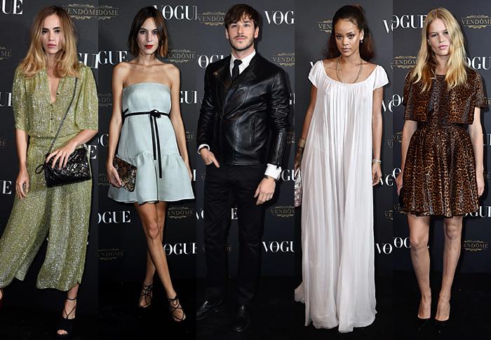 Ужин в честь юбилея французского Vogue
