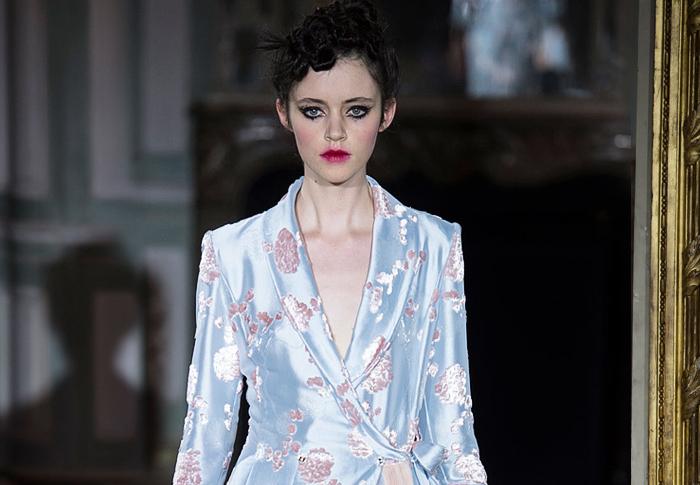 Неделя высокой моды в Париже: Ulyana Sergeenko, осень 2015