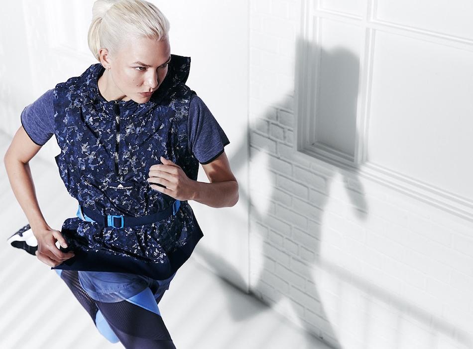 ca0909b5 Карли Клосс боксирует и бежит кросс в новой кампании adidas by Stella  McCartney | Buro 24/7